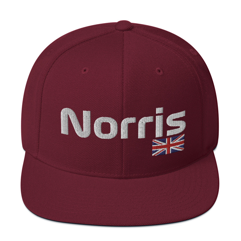 Lando Norris British Flag Hat