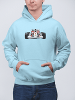 Load image into Gallery viewer, Senna's 1993 McLaren MP4-8 Front Hooded Sweatshirt