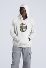 Load image into Gallery viewer, Sebastian Vettel Helmet Hooded Sweatshirt