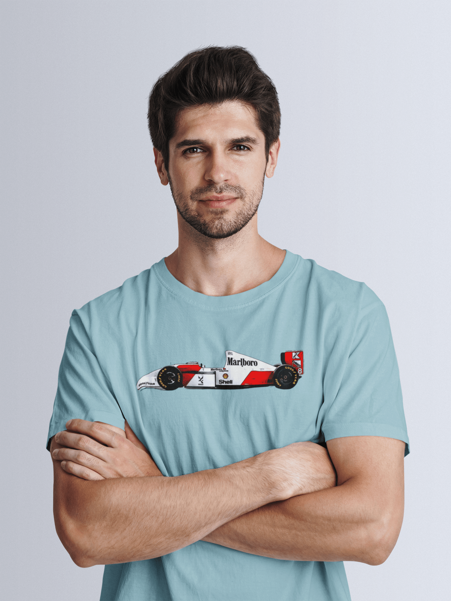 Senna's 1993 McLaren MP4-8 T-Shirt