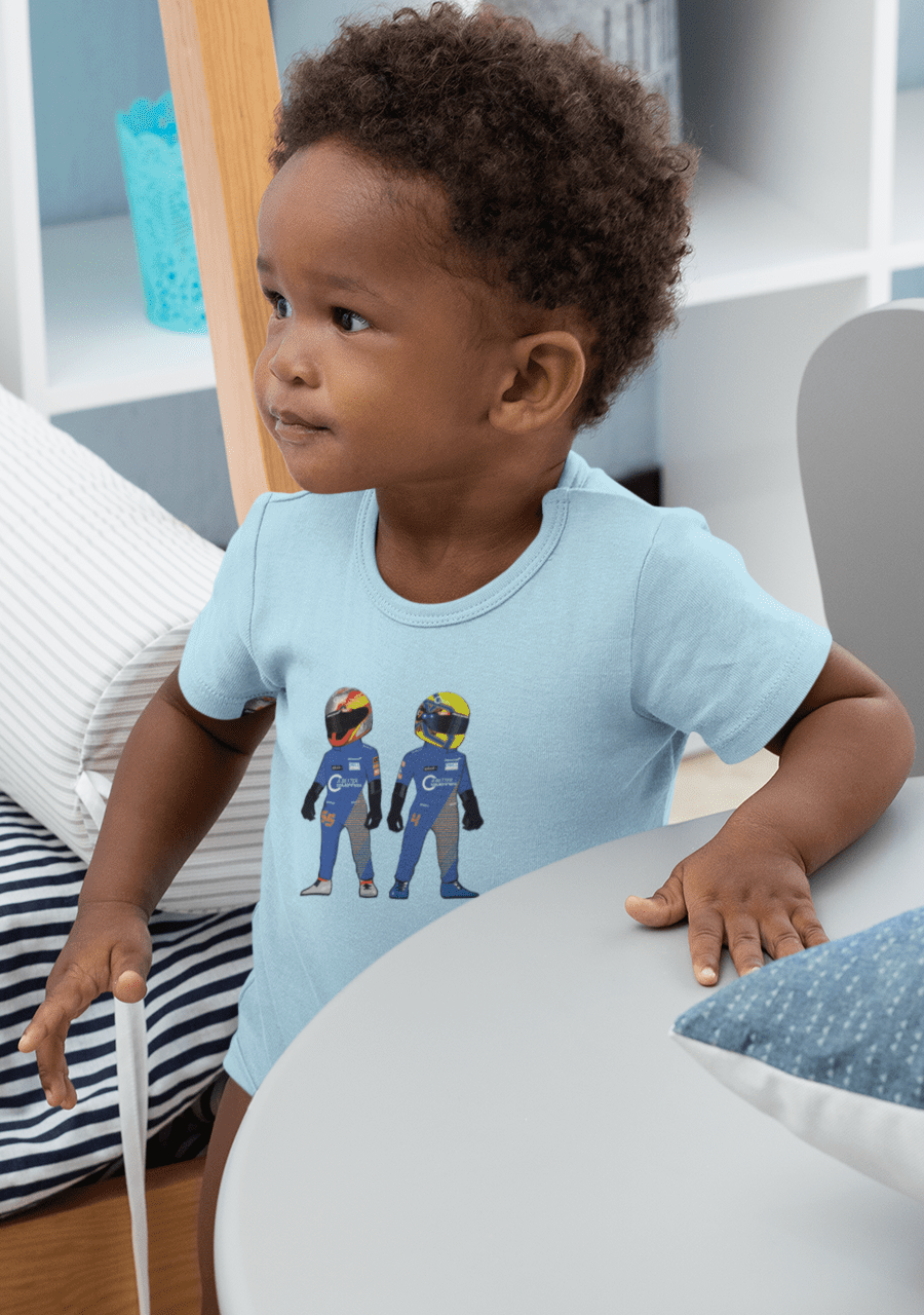 2020 McLaren Pair - Carlos and Lando Baby T-Shirt