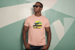 Load image into Gallery viewer, Ayrton Senna Helmet T-Shirt (Large Center)