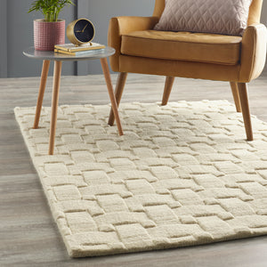 Basketweave 3D - New Ivory