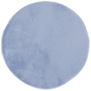 Lustrous Faux Fur - Blue Breeze