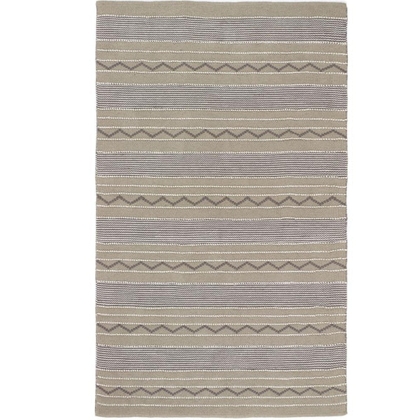 Rustic Stripe - Natural/Brown