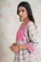 Banjara Kurta Set Cream Pink (Set of 2) (4877563035695)