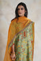 Seri Kurta Set Green Rust (Set of 3)