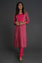 Yoke Kurta Set Pink (Set of 2) (4878079262767)