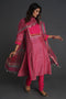 Yoke Kurta Set Pink (Set of 2)