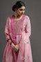 Blush Pink Gold Yoke Kurta