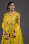Yellow Coffee Yoke Kurta