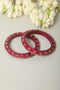 Rani Pink Lac Bangles (Set of 2)