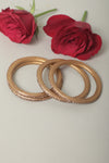 Tan Lac Bangles (Set of 4)