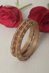 Golden Lac Bangles (Set of 2)