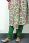 Bright Green Lowers (Churidar/Salwar)
