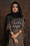 Afreen Ajrakh Kurta Cream Black (4803022815279)