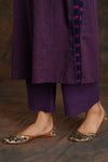 Mauve Plain Pants