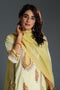 Aboli Embroidered Light Yellow Kurta