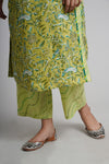 Lemon Green Yoke Kurta