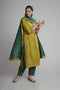 Rozana Yellow Green Kurta