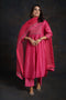 Banjara Pink Embroidered Kurta