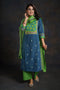 Cobalt Blue Embroidered Kurta