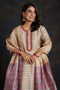 Seri Cream Peach Embroidered Kurta