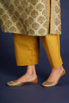 Ochre Plain Pants
