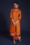 Rozana Embroidered Kurta Light Rust