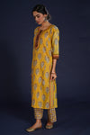 Rozana Kurta Set Yellow (Set of 3) (4860098641967)