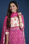 Pink Bandhani Embroidered Kurta