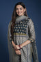 Steel Grey Afreen Kurta