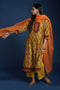 Afreen Yellow Orange Kurta
