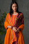 Mauve Orange Kurta