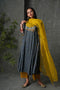 Blue Mustard Banjara Cotton Silk Kurta