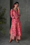 Peach Pink Chanderi Kurta