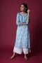 light blue adara kurta