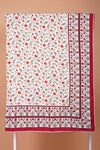 Red Printed Double Dohar
