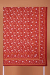 Mustard Red Single Bed Cover