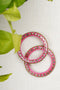 Pink Cutwork Lac Bangles (Set of 2)