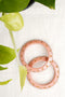 Peach Lac Bangles (Set of 2)