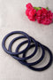 Indigo Lac Bangles (Set of 4)