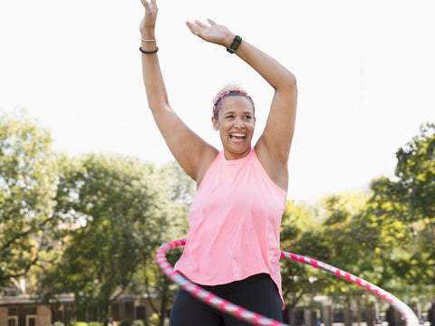 How often should you use a weighted hula hoop?