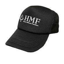 Load image into Gallery viewer, Black Trucker Cap