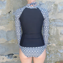 Load image into Gallery viewer, Salt Long Sleeve Rash Vest in Tribal