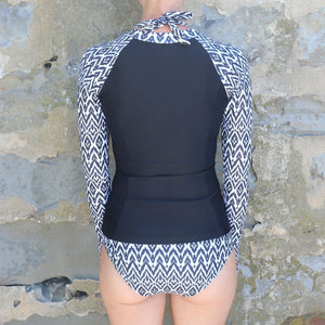 Salt Long Sleeve Rash Vest in Tribal