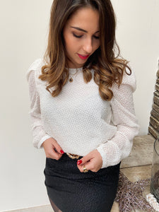 Blouse Chicago Blanche