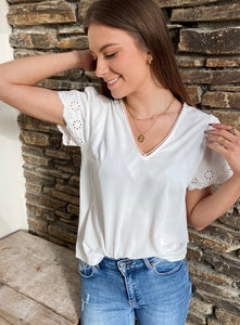 Blouse Margaux Blanche