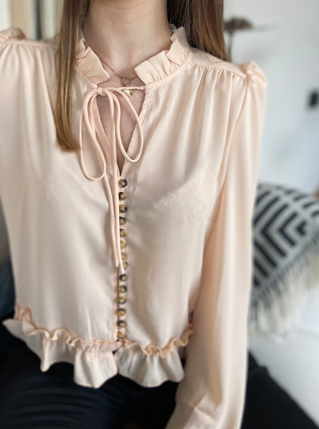 Blouse Ylénia Beige