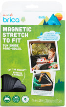 Load image into Gallery viewer, Sun Shade - Munchkin Brica Magnetic Stretch-to-Fit™ Sun Shade